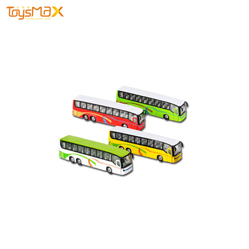 Hot Selling Import Toys Die Cast Mini Bus Toy Cheap Function Toy