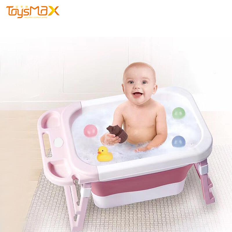 2020 New Products  portable design folding baby bath tub