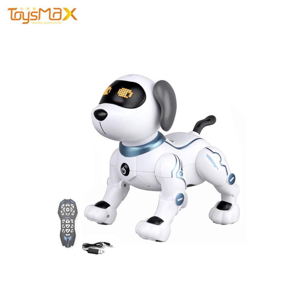 Christmas Smart Robot Stunt Dog Battery Operated  Rc Robot Dog Toy