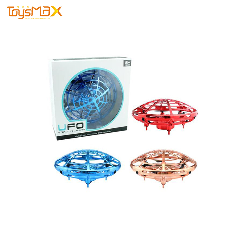 Quality Infrared Induction UFO Hand Interaction Multiplayer Drone  Quadcopter Toys