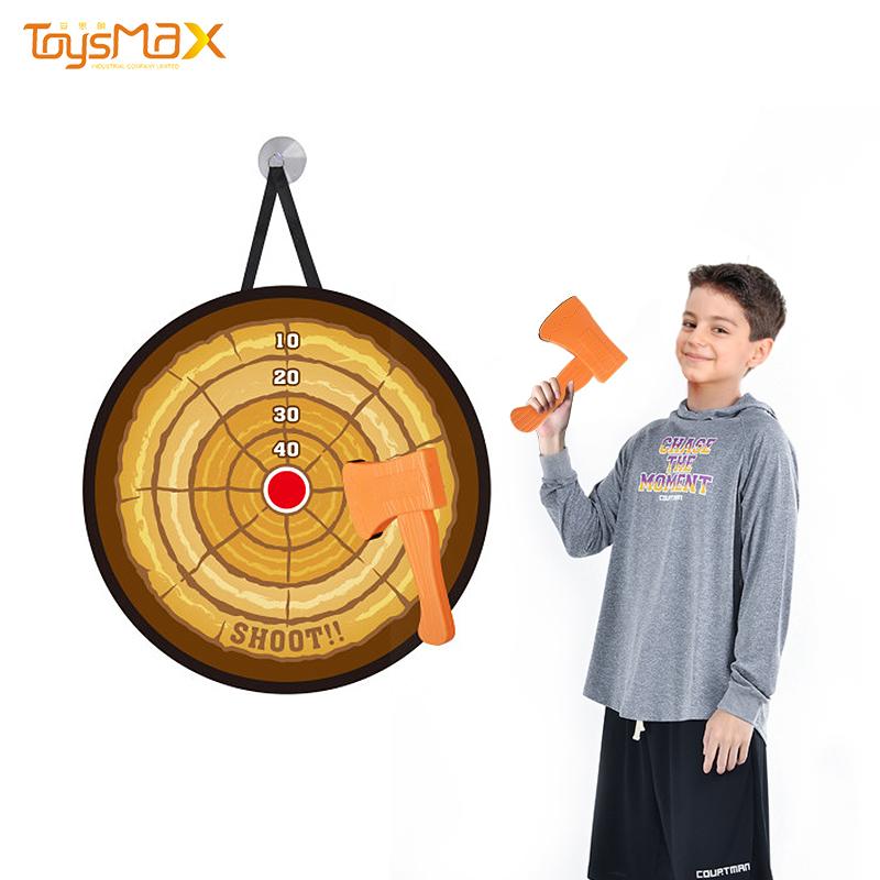 Amazon Hot Sale Kids Outdoor Indoor Sports ToysTarget Shooting Flying Axe Throwing Game