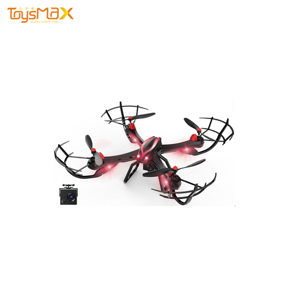 Professional 2.4G Quadcopter Headless Mode With Hd Camera Radio Control Rc Drone Toy