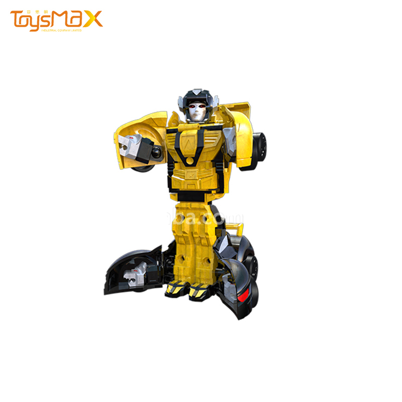 New Plastic ABS 2 IN 1 car transform robot car toy