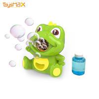 New Design Funny Bubble Gun Toy Soap Dinosaur Bubble Gun With 5 Bubbles Holes