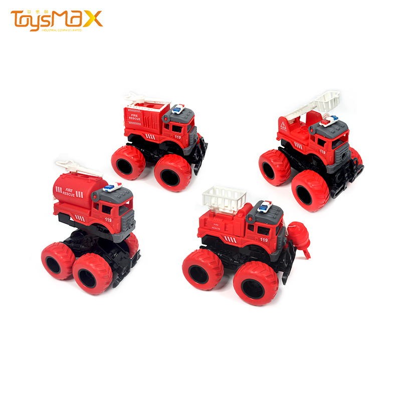 New design assembly car toy impact deformation fire truck toys for kids