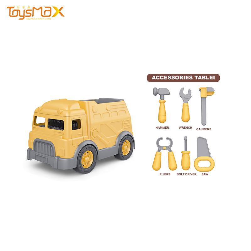 Parent-child interaction toys pretend tool set construction trucks