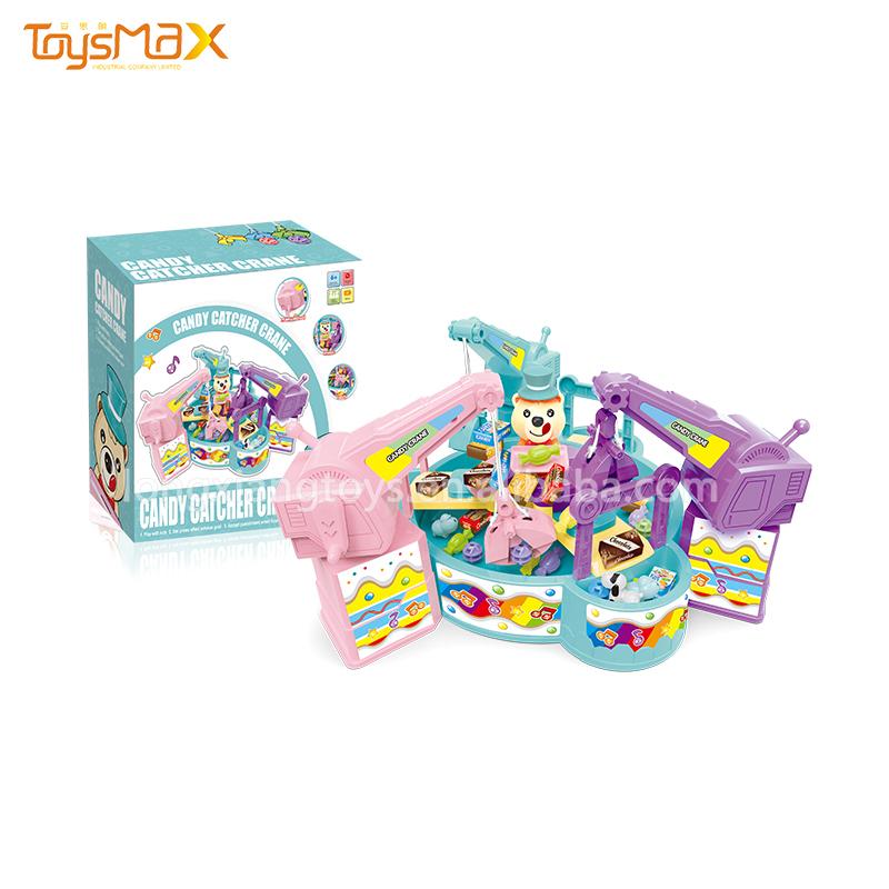 Funny Plush Doll Machine Mini Electronic Claw Crane Machine Education Equipment Catcher Toy