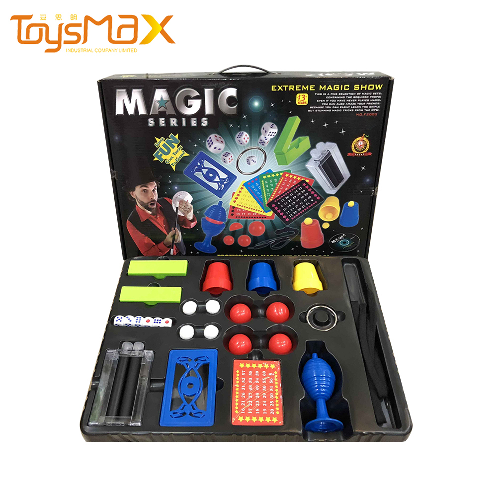 Hot Sell Magic Tricks Props Instruction Video Incredible Classic Magic Kit Set Magic Trick For Kids