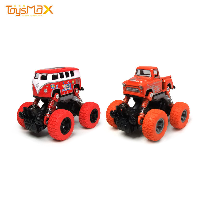 Pull back alloy model toy shockproof device mini diecast car