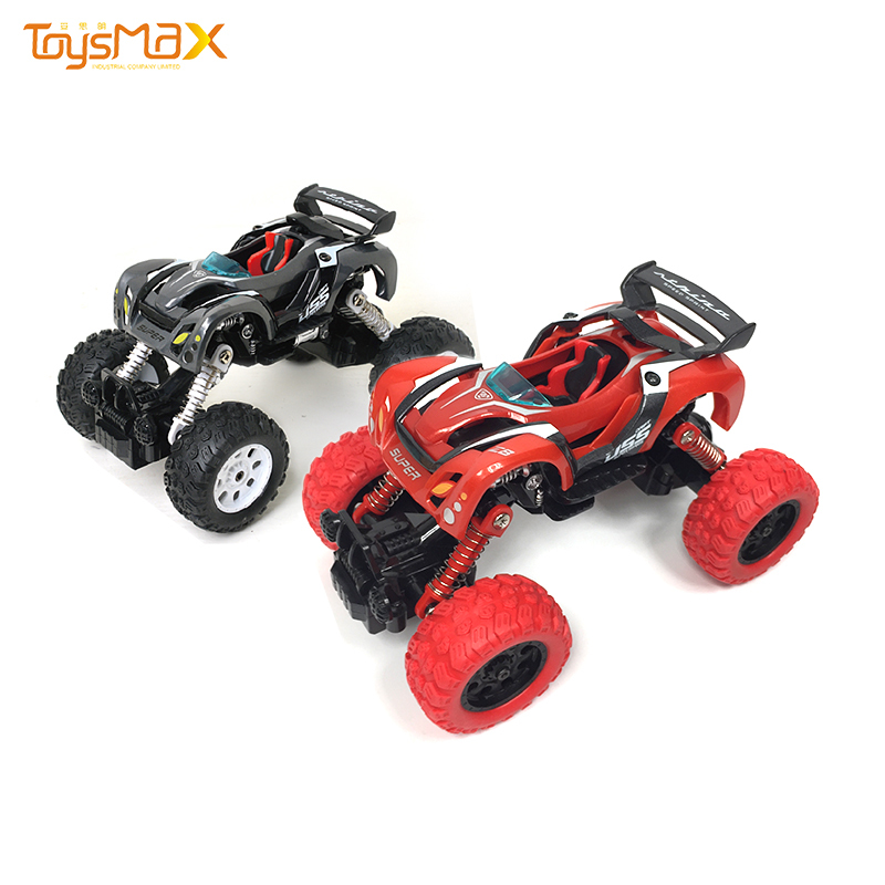 New style DIY assemble alloy car 4WD pull back toy car