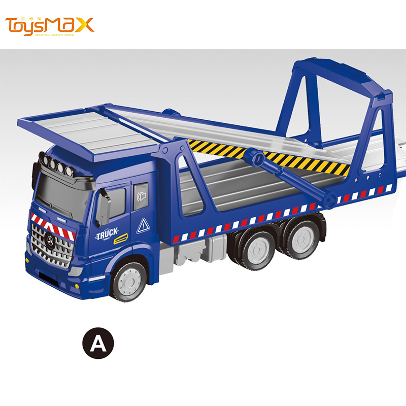 New 1:46 Scale  Popular Pull Back Metal Transportation Truck Toys Battery operated Die Cast Model Truck