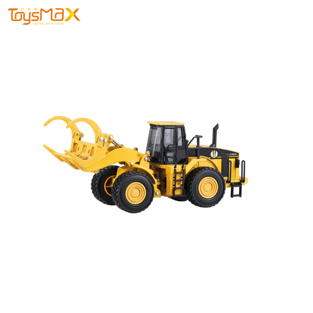 Top Selling Tractor Toys Logging Truck Products Metal Alloy Toys