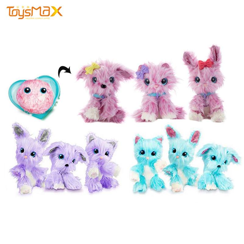 Cute Plush Toy Hotsale Girl Play Animal Plush Dog Baby Doll Children Gift