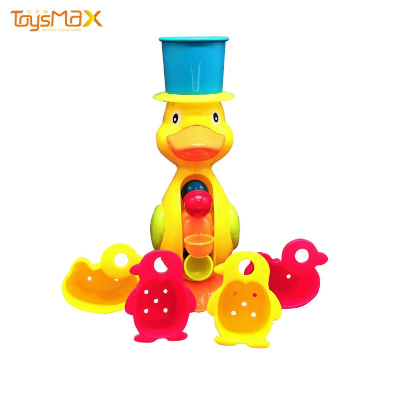 China Wholesaler Summer Toys Cheap Bathroom Yellow Duck Bath Toys For Kids