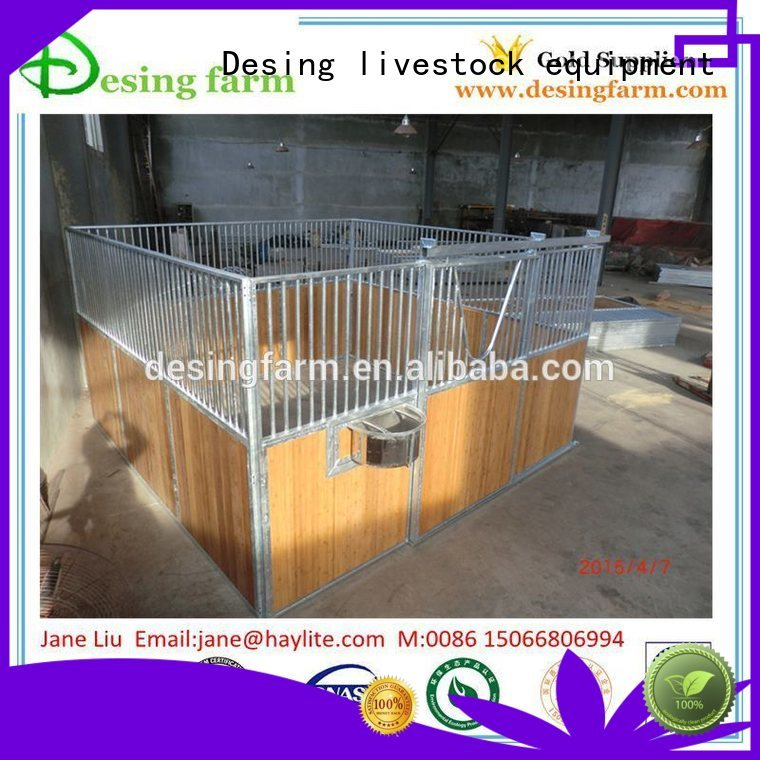 Desing space-saving portable horse stables stainless quality assurance