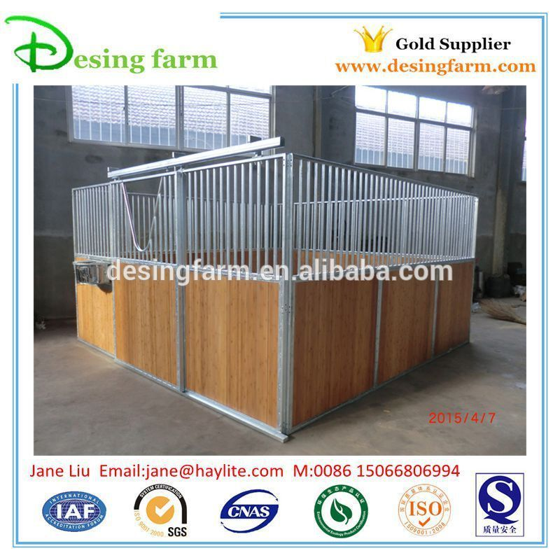 Galvanized horse stable China for horse used
