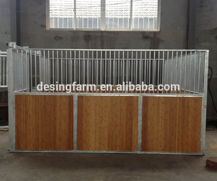 High quality and strong new horse stalls horse fencing