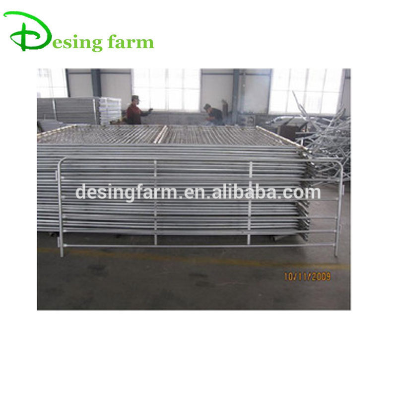 cheap galvanized steel tube fence panel for sale