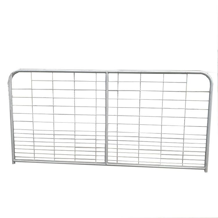7 rail interlocking galvanized sheep panel