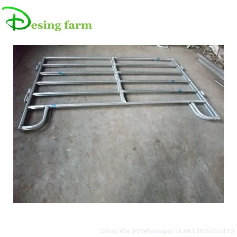 Cheap galvanized horse fence panels