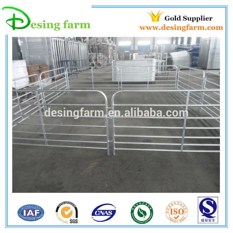 Easy to assemble galvanized livestock sheep panels for Australia