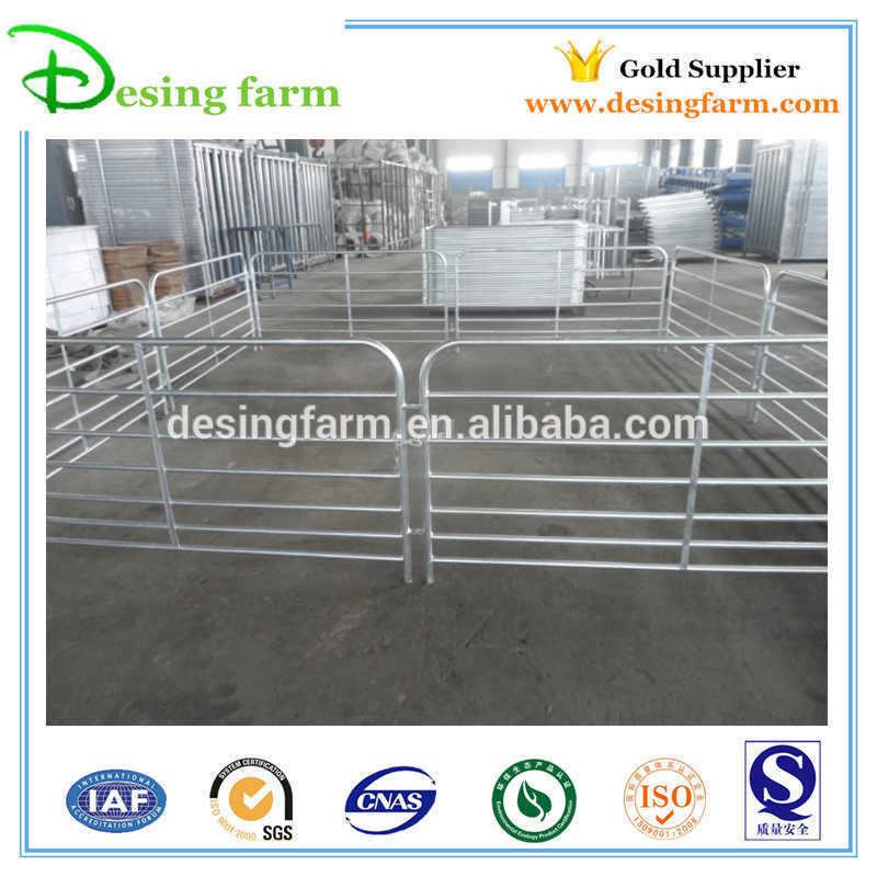 Easy to assemble galvanized livestock sheep panels for Australia