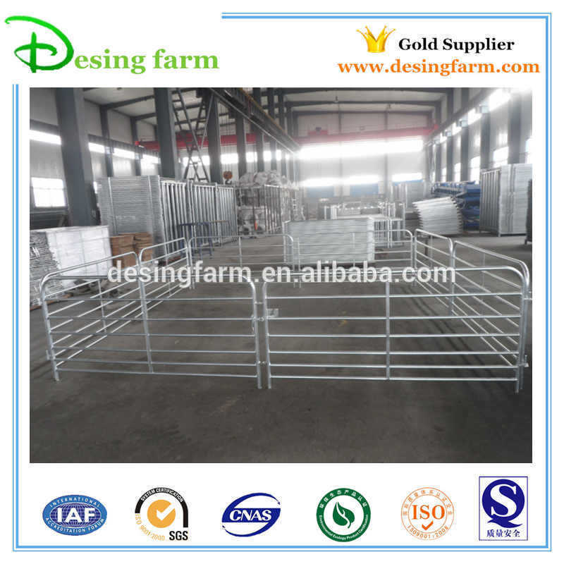 Temporary round pipe livestock sheep panels for sale