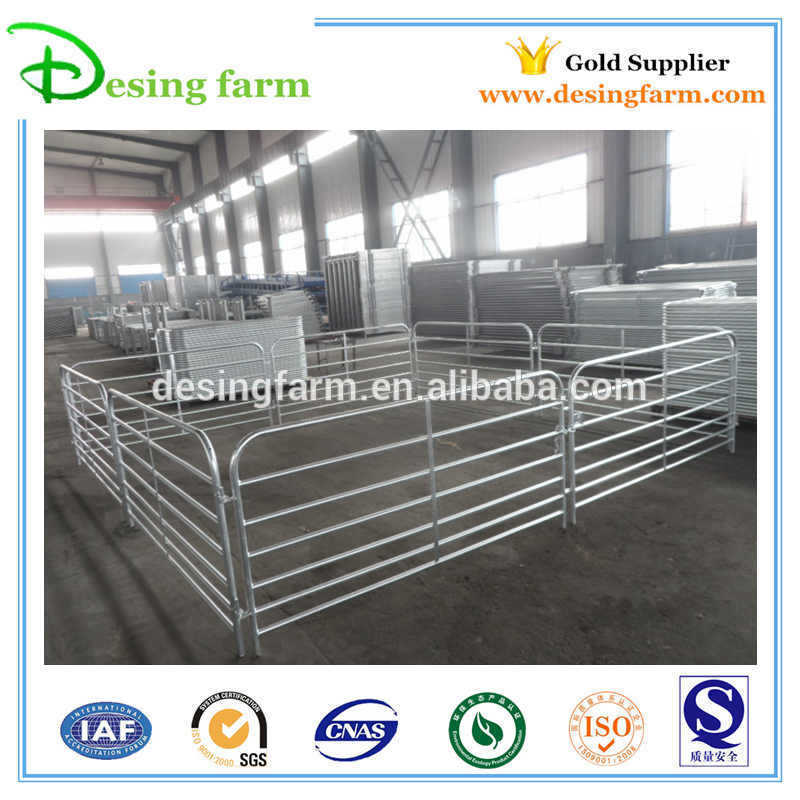 Temporary galvanized livestock sheep hurdle panels factory