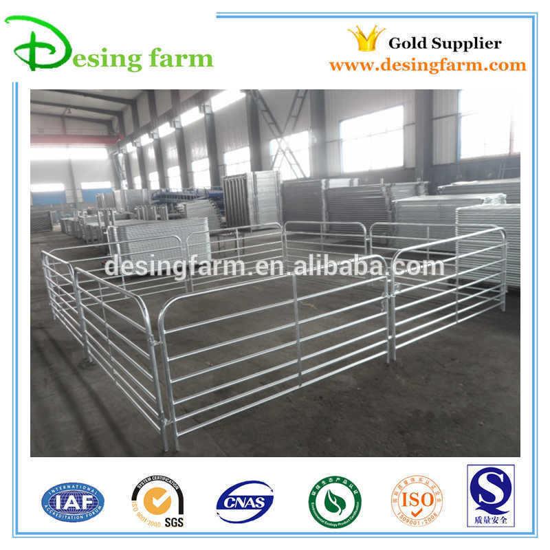 Temporary galvanized livestock sheep hurdle panels for sale
