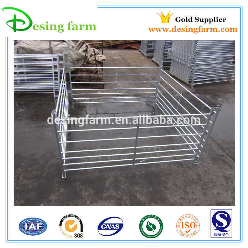 Portable steel livestock sheep yard fence panels for sale