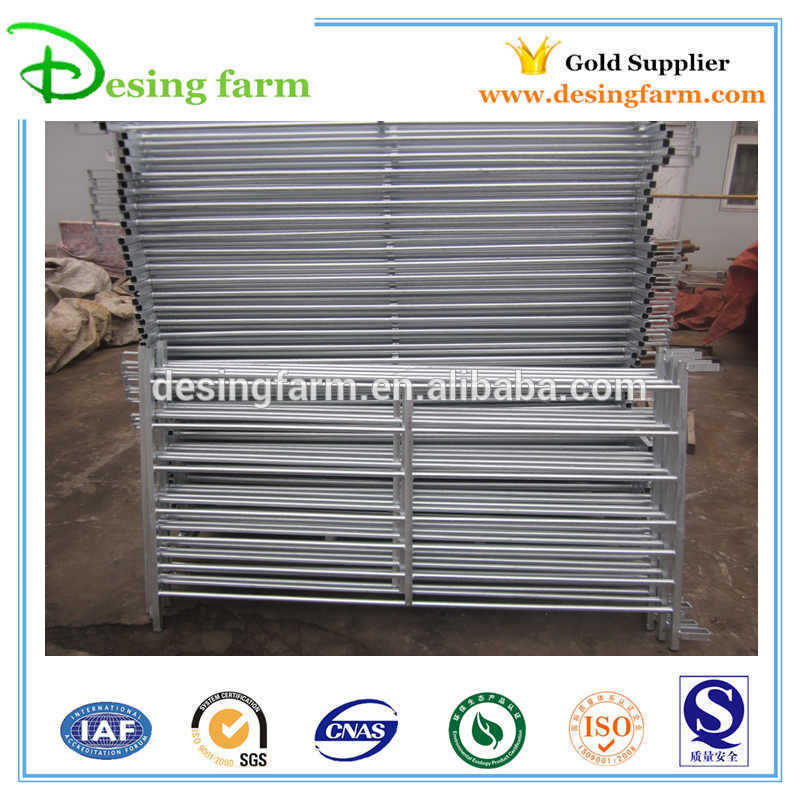 Temporary galvanized livestock sheep fence panels for sale