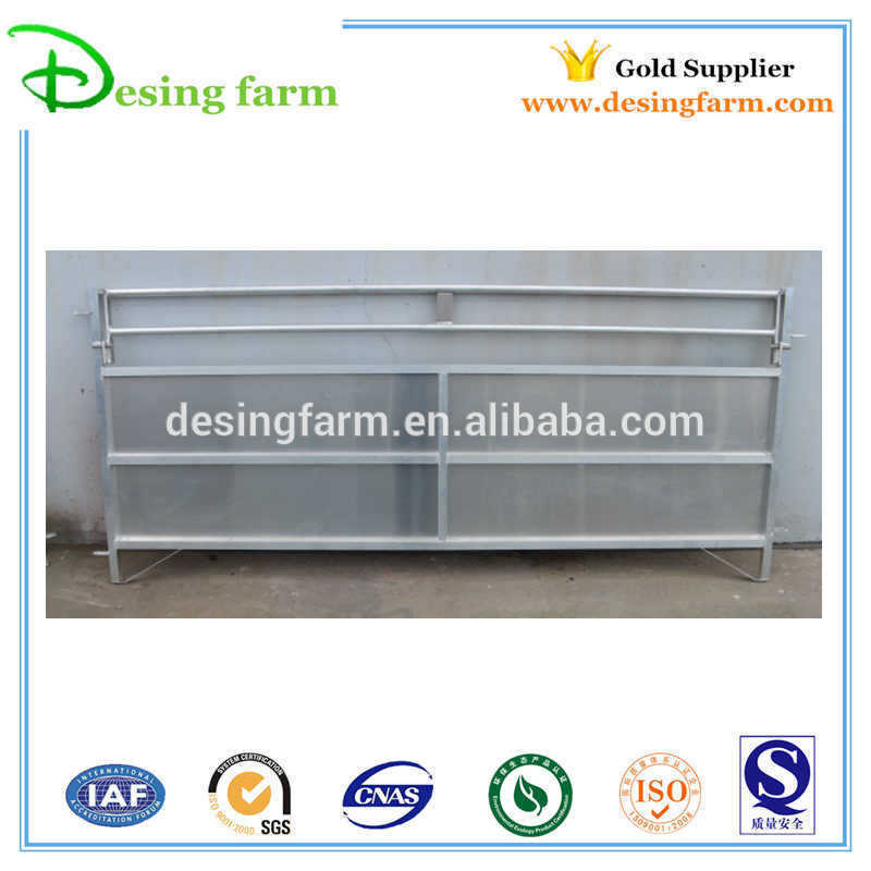 Galvanized livestock sheep corral panels/fence panels