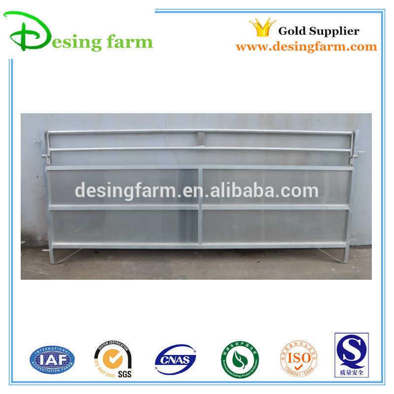 Galvanized livestock sheep corral panels/fence panels