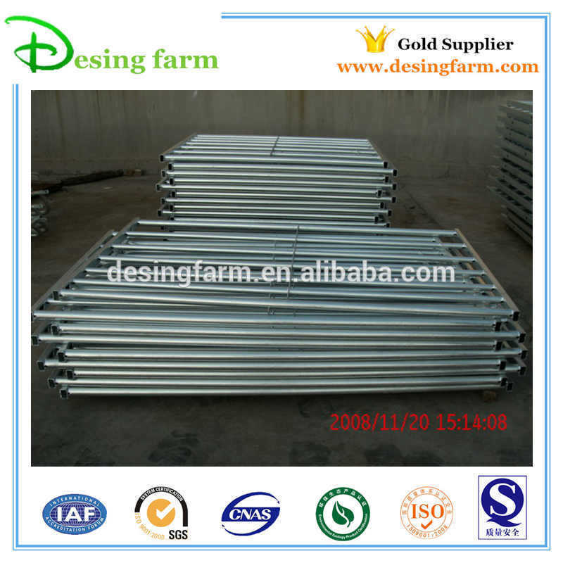Portable galvanized metal livestock sheep fence panels for sale