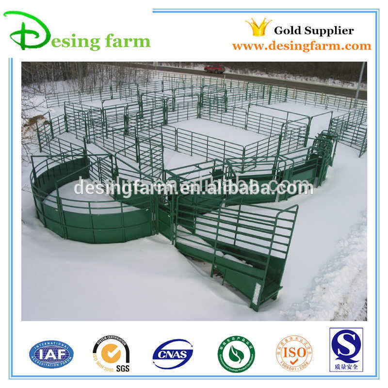 Heavy duty galvanized livestock sheep yard panels manufacturer