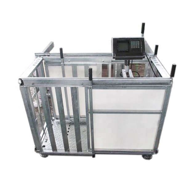 Wholesale Electric Hot Dip Galvanized Sheep Crate For Weighing