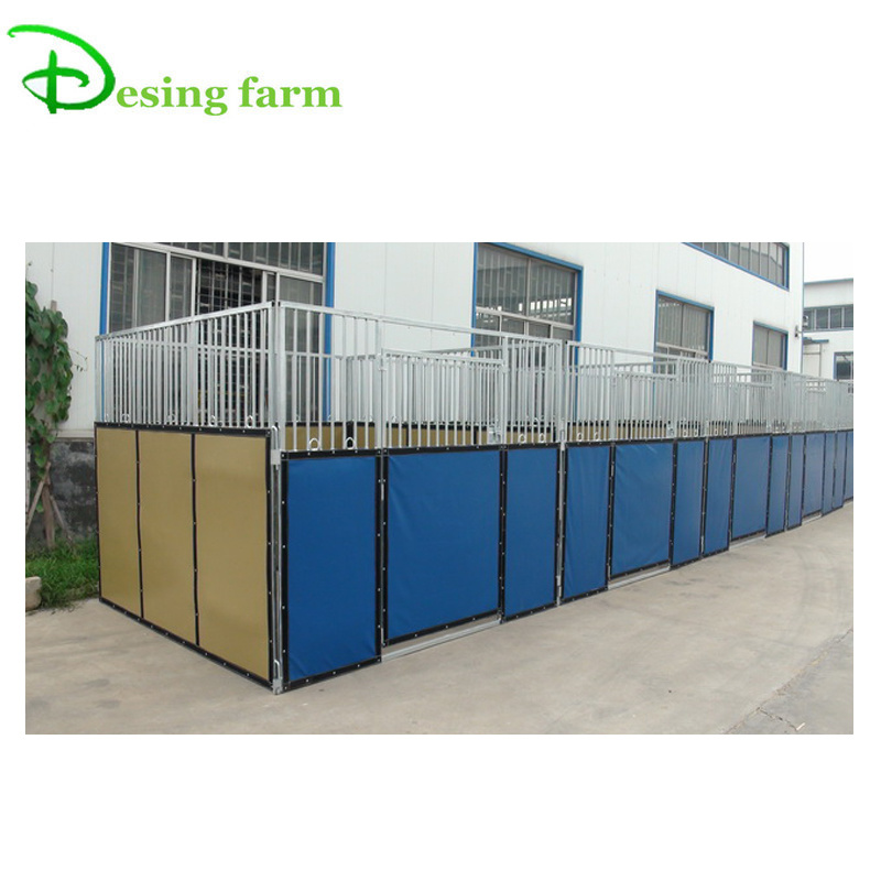China hot dipped galvanized steel horse stable for sale
