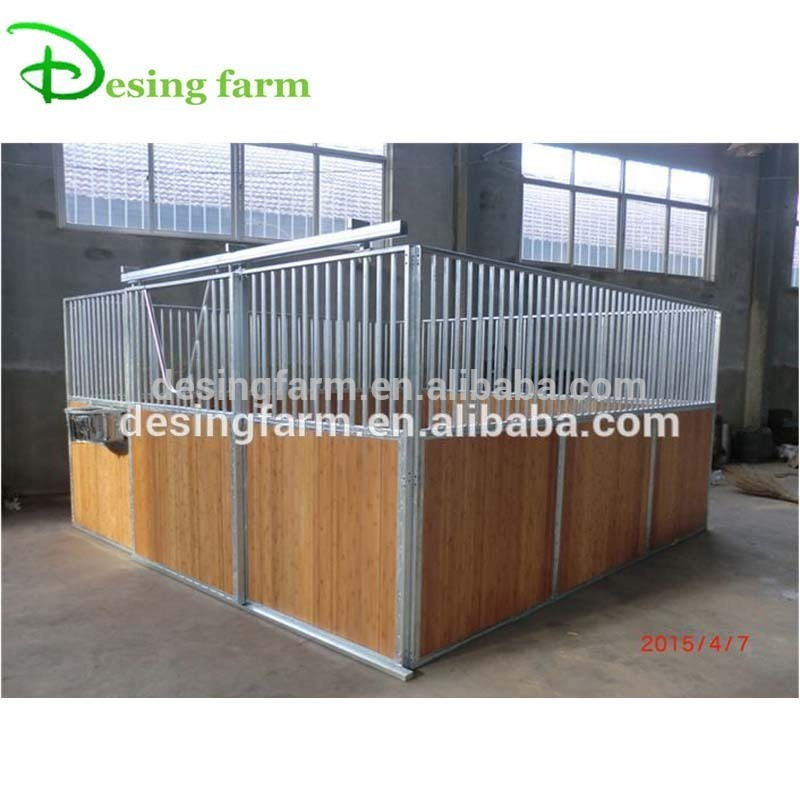 Hot Dipped Galvanized Portable Bamboo Horse Stable Barn