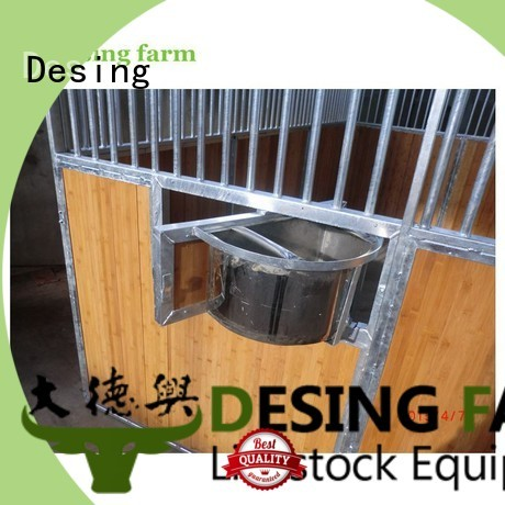 Desing comfortable livestock fence panels quality assurance