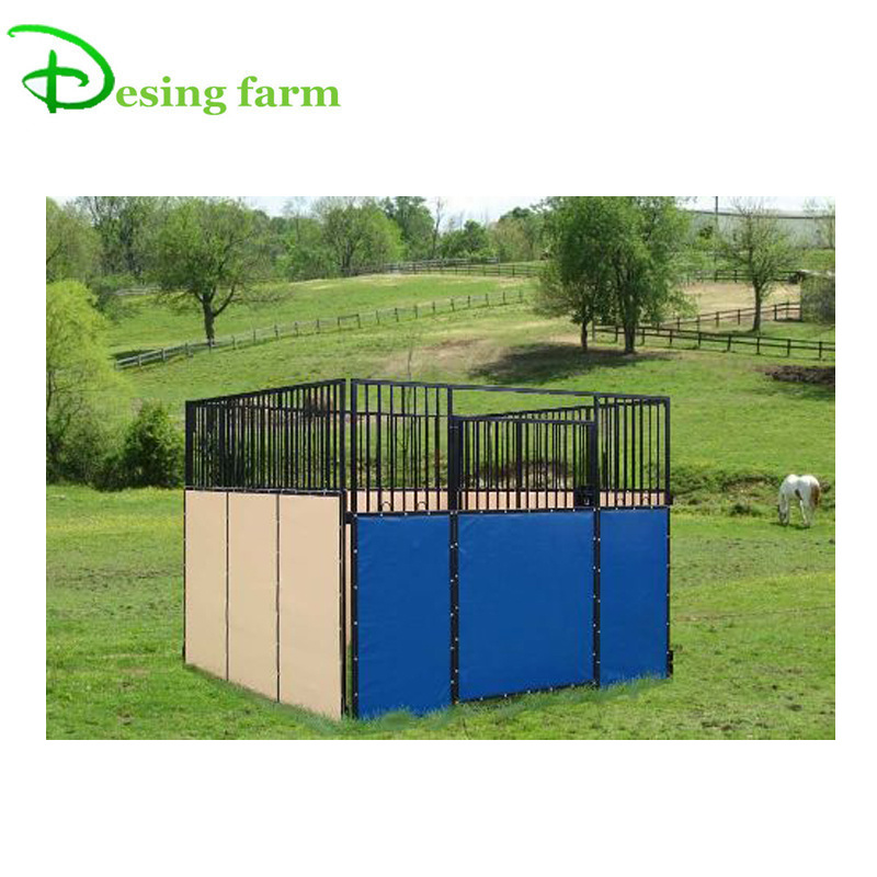China portable hot dipped galvanized horse stable panels