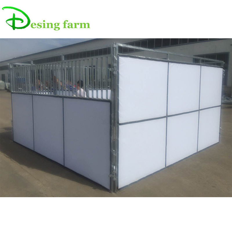 portable steel horse stable equipment for sale