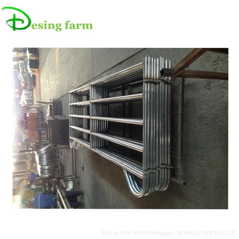 Heavy duty horse fence metal panel