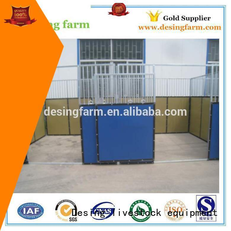 Desing best horse stables galvanized fast delivery