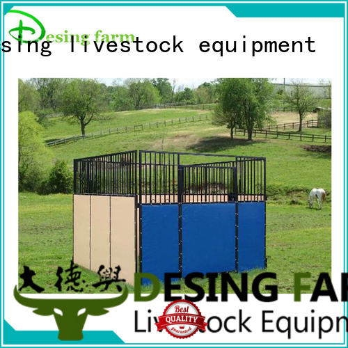 Desing custom horse stable easy-installation quality assurance