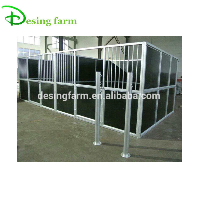 new design easy assembled horse stable panel for wholesale