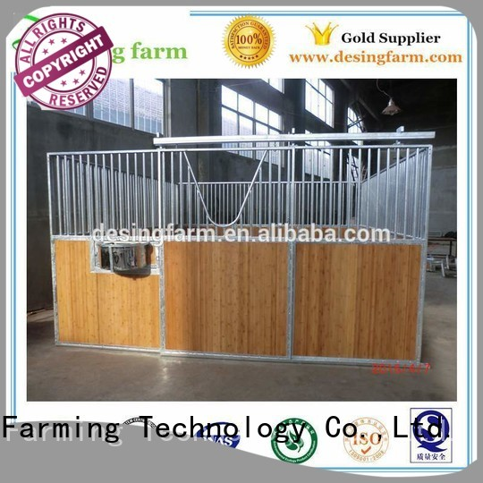 Desing comfortable custom horse stable stainless quality assurance