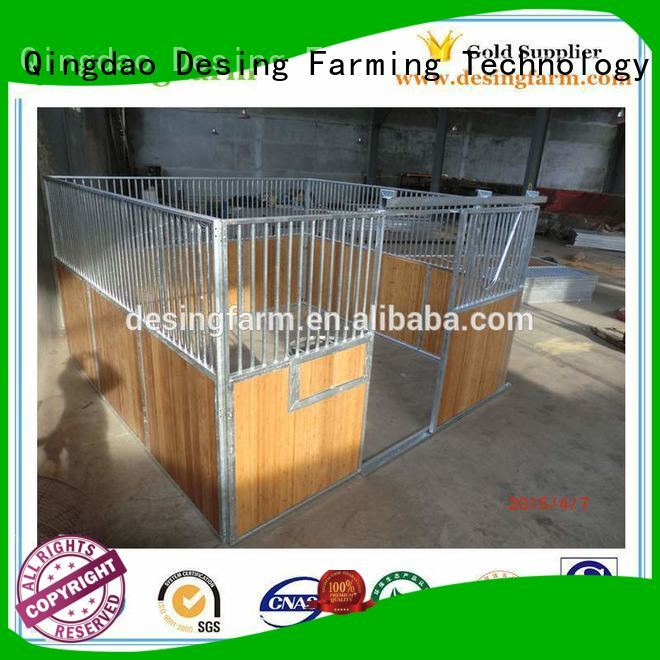 Desing outdoor horse stables stainless excellent quality