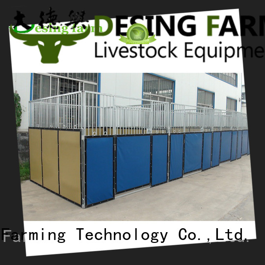 Desing comfortable custom horse stable fast delivery