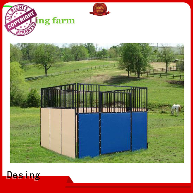 Desing comfortable portable horse stables stainless quality assurance