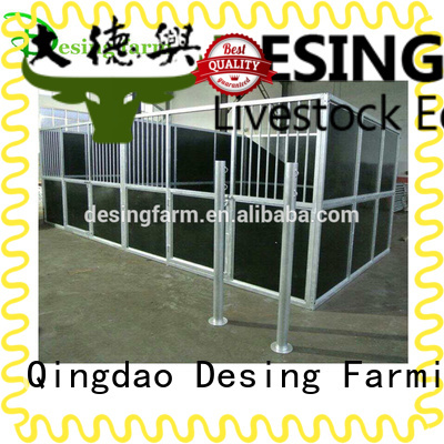 Desing portable horse stables galvanized fast delivery
